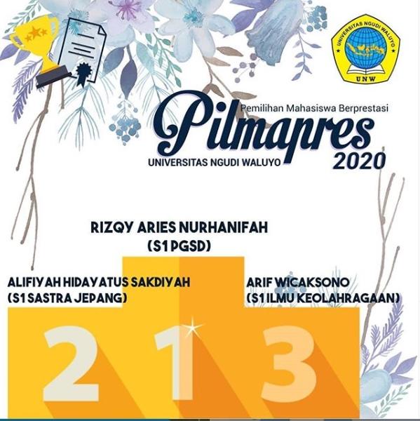 Juara 1 Pilmapres 2020
